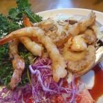 ハンバーグレストラン葦 - 帆立と海老のバター焼き アップ