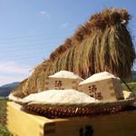 串カツ専門店 天草研究所 - お店で提供しているお米は自社農園産です。