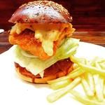 TOKYO BURGER - Fish burger フィッシュバーが