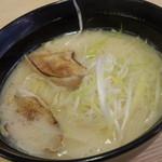 スシロー - 濃厚のどぐろ白湯ラーメン◎
