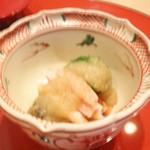 祇園 淺田屋 - 先付 ずわい蟹 ブロッコリー おろしポン酢