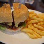 Long Bar - ハンバーガー