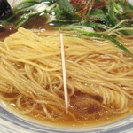 ラーメン 青 - 細麺の細さ