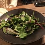 organ - 2017.01.14 テーブルで完成する「穴子スモークのフリットと茄子、トマト、葉野菜のサラダ」③