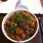 すき家 - 食べラーメンマ牛丼