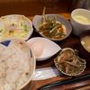 らんまん - 料理写真:「とろろ麦めし定食」(650円)。+50円で茶碗蒸し付に。コレにあじフライがつきます。