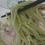 61362182 - しおグリーン麺 麺