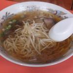 こころ - 料理写真:中華そばです☆ 2017-0114訪問