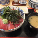 61362661 - マグロ丼です☆ 2017-0114訪問