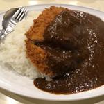 カレー専門店 横浜 - カツカレー ご飯少なめ 辛口