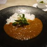 東麻布うらあり むらかみ - Type A 日本料理屋のカレー&日本料理屋のラーメン 1200円。