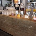 ザルーフトップカフェ - ドリンクバー