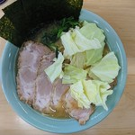 会心のラーメン 捲り家 - 2016年12月 チャーシューメン(中盛) 1100円
