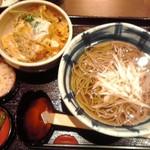 そじ坊 - 料理写真:かつ丼定食 960円(税込)(2017年1月1日撮影)
