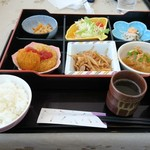 安佐サービスエリア(下り線)レストラン - 2017年1月 日替わり定食(980円)