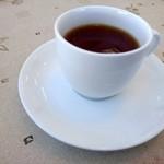 安佐サービスエリア(下り線)レストラン - 2017年1月 サービスの紅茶