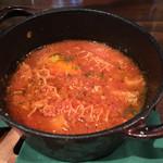 肉×ラクレットチーズ ツリーハウスダイナー - 煮込みトリッパ
