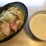 61365645 - 鶏豚魚つけソバ(2種の麺) ¥850