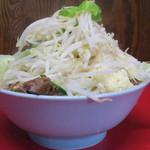 ラーメン二郎 - ラーメン小+野菜ニンニク