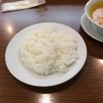 インドカレーレストラン マサラ - おかわりライス。
