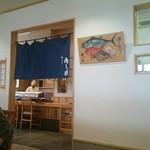 61367351 - 店内にお寿司屋さんもあります。