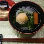 Nihonryourifuji - ディナー お吸い物