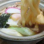 うどん処 杉 - 鍋焼きの麺