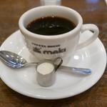 コーヒーハウス マキ - セットのブランドコ-ヒー