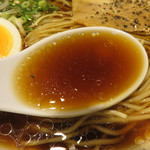 金菜亭 - 確かにワサビの風味がします。 ツーンとまではしないけど、爽やかなフレーバー。