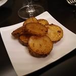 Large - 長芋のガーリックバターソテー(取り分け後)