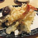 小料理 椿 - 天ぷら盛り合わせ