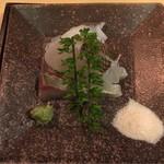 61370977 - 造り3種(しまあじ、真鯛、水ダコ)