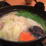 能古うどん - 料理写真:水炊きうどん