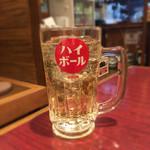 焼肉酒房 カナタ - ハイボール