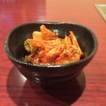 焼肉酒房 カナタ - 白菜キムチ