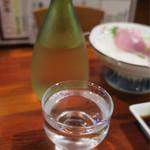 61378474 - 勝駒 純米酒(富山県高岡市 清都酒造場、旨味とキレで刺身に合う)990円