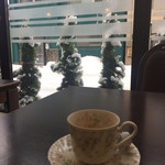 タウンホテルミナミ - 2017年1月。朝食後のコーヒー。