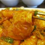 明洞のり巻 - 韓国式の練りもの=オデンも使われてます