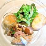 デ・ボン・クール - ランチセット¥1550の前菜