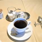 デ・ボン・クール - 珈琲or紅茶、ホットコーヒーを選択