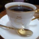 林風舎 - 夫はコーヒー カップ&ソーサーはお店のオリジナル 1万円で販売していました。