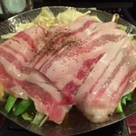 四季の蔵 右近 - ◆9種類の野菜と特選ポークの元気鍋