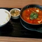 61385729 - 和牛すじ肉スン豆腐定食