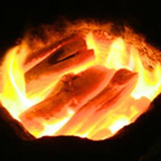 焼き方にもこだわり!使用するのは「最高級備長炭」!
