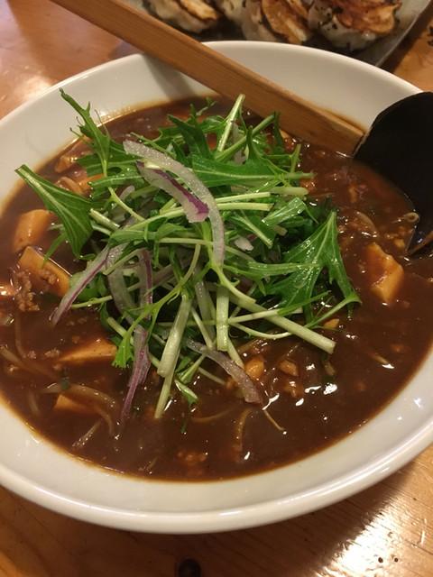 らーめん 川當 - 麻婆豆腐ラーメン