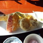 蕎壽庵 - さくさく天ぷら