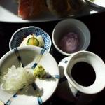 蕎壽庵 - 薬味