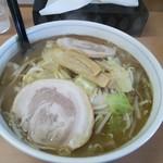 61388960 - 「野菜ラーメン(醤油)」。