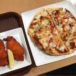 マラティ - チキンティッカとピザナン