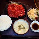 6139072 - 味わいカルビランチ お肉大盛り1.5人前 ¥1180